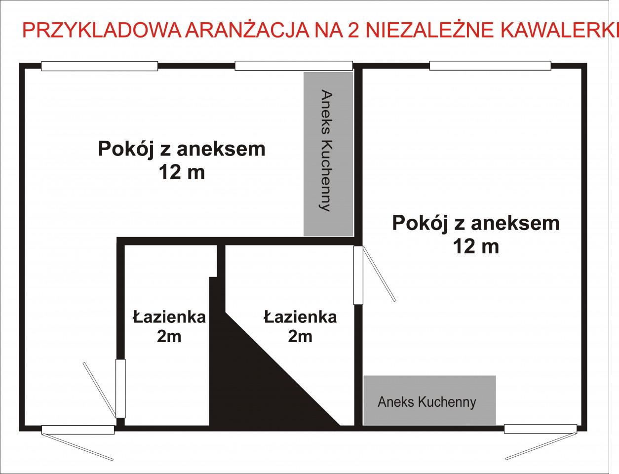 Mieszkanie 1-pokojowe Łódź Śródmieście, ul. Pomorska