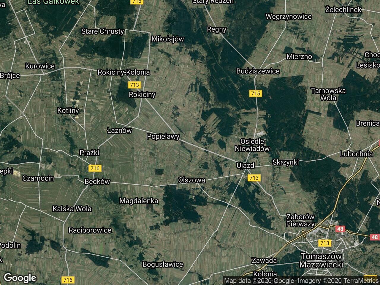 Działka rolna Buków