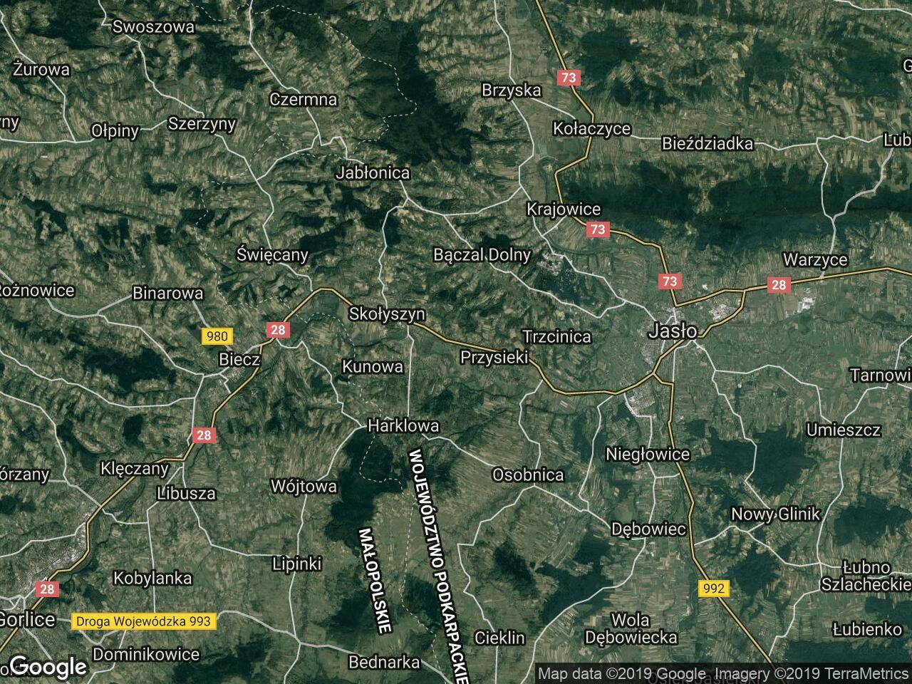 Działka rolna Siedliska Sławęcińskie
