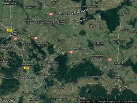 Działka inwestycyjna Domaszowice