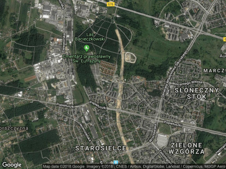 Mieszkanie 2-pokojowe Białystok Leśna Dolina, ul. Bacieczki 219
