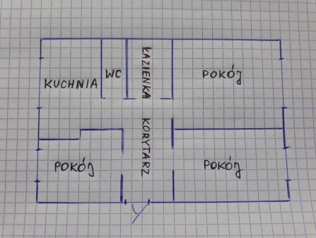 Mieszkanie 3-pokojowe Skierniewice, ul. Cicha