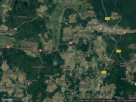 Działka inwestycyjna Luzino, ul. Dębowa