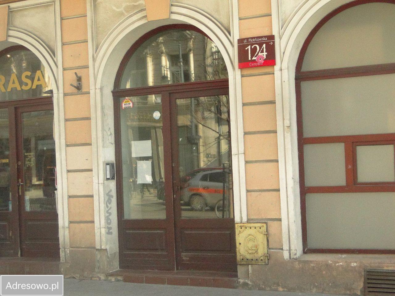Mieszkanie 1-pokojowe Łódź Śródmieście, ul. Piotrkowska 124