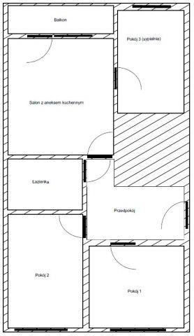 Mieszkanie 4-pokojowe Nowy Targ, al. Tysiąclecia