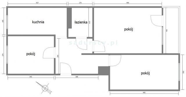 Mieszkanie 3-pokojowe Kraków Czyżyny, os. Tysiąclecia