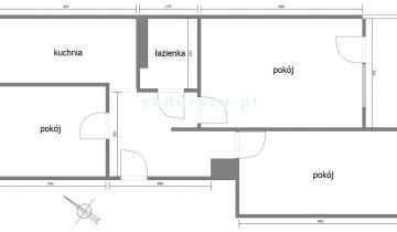 Mieszkanie 3-pokojowe Kraków Czyżyny, os. Tysiąclecia. Zdjęcie 1