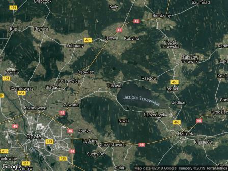 Działka budowlana Turawa Marszałki, ul. Miodowa