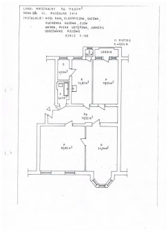 Mieszkanie 3-pokojowe Nowa Sól, ul. Muzealna 26