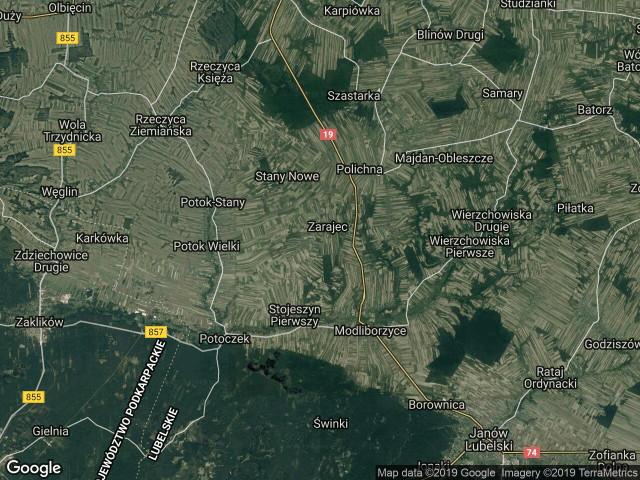 Działka rolno-budowlana Stojeszyn-Kolonia