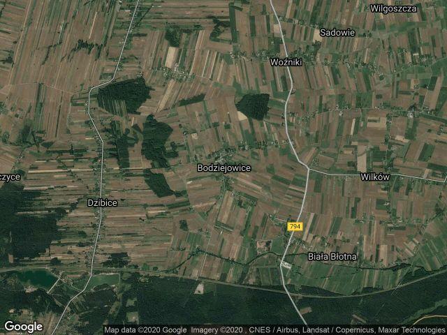 Działka rolna Bodziejowice