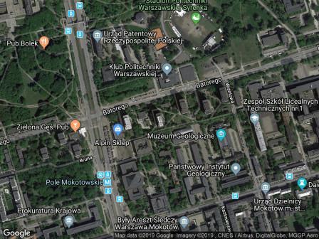 Mieszkanie 2-pokojowe Warszawa Mokotów, ul. Stefana Batorego 33