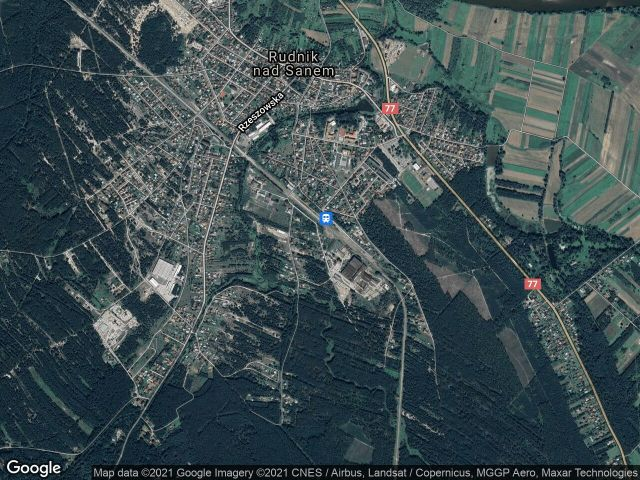 Działka budowlana Rudnik nad Sanem, ul. Stalowa