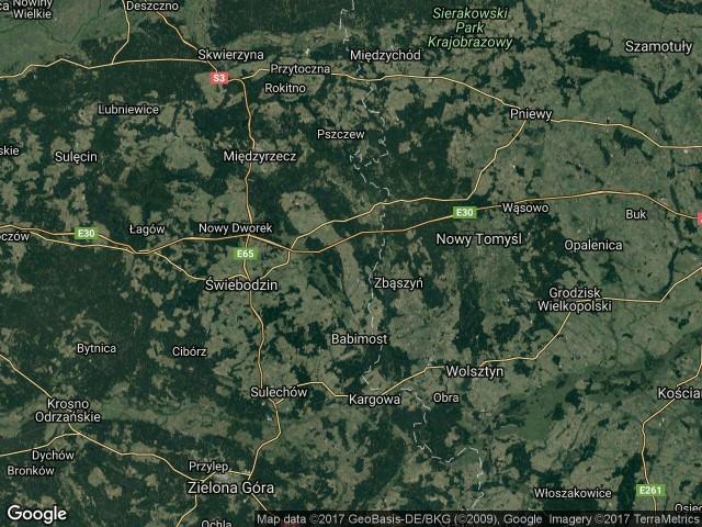Działka leśna Dąbrówka Wielkopolska