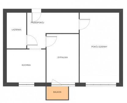 Mieszkanie 2-pokojowe Zamość Planty