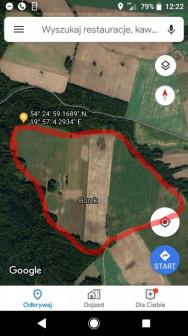 Działka rolna Braniewo