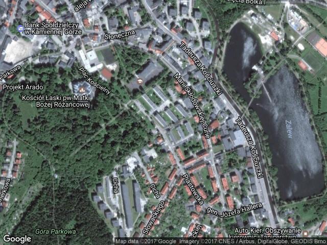 Mieszkanie 2-pokojowe Kamienna Góra, ul. Piastowska 7