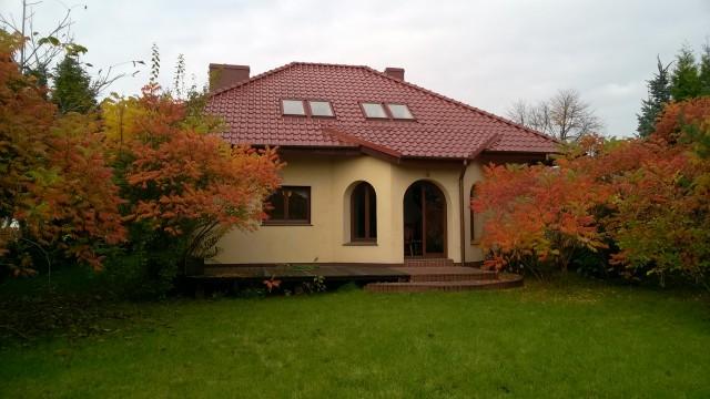 dom wolnostojący, 5 pokoi Dąbrowa, ul. Leśna 44