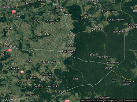 Działka inwestycyjna Hajnówka, ul. Józefa Piłsudskiego