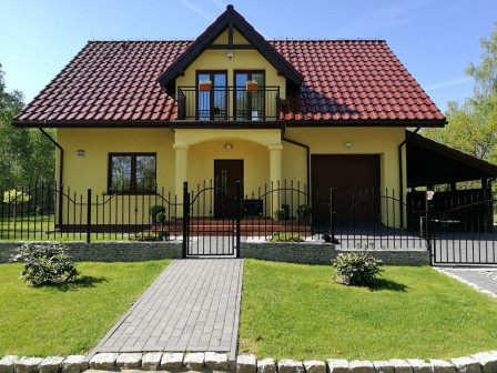 dom wolnostojący, 4 pokoje Gniewomirowice, Gniewomirowice 542