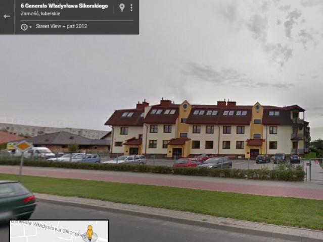 Mieszkanie 2-pokojowe Zamość, ul. gen. Władysława Sikorskiego