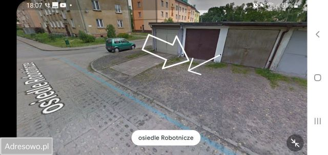 Garaż/miejsce parkingowe Dąbrowa Górnicza Ząbkowice, os. Robotnicze 8