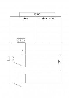 Mieszkanie 2-pokojowe Dęblin, ul. Stanisława Staszica 5