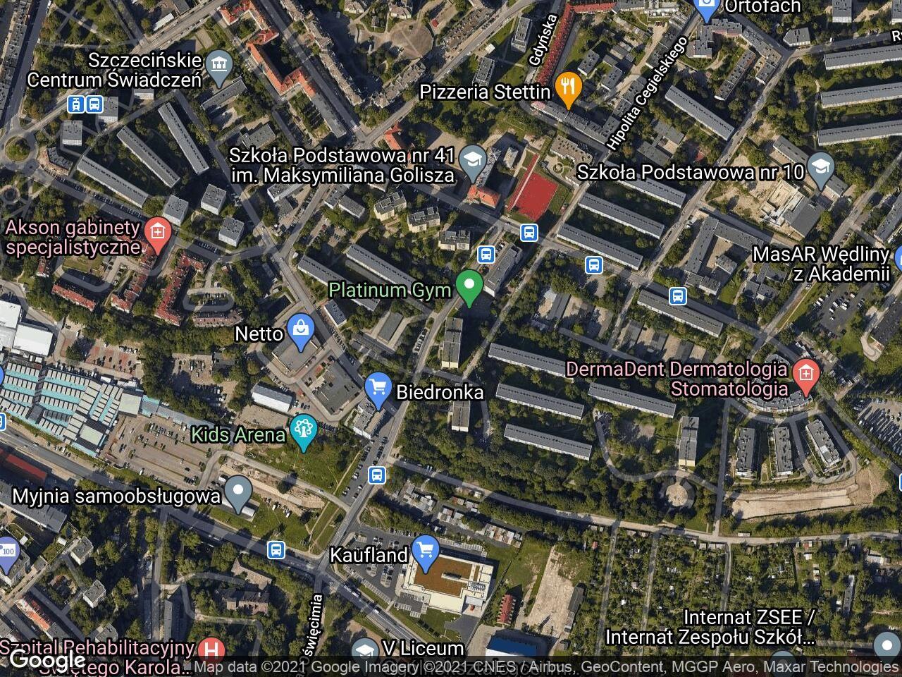 Mieszkanie 2-pokojowe Szczecin Niebuszewo, ul. Ofiar Oświęcimia