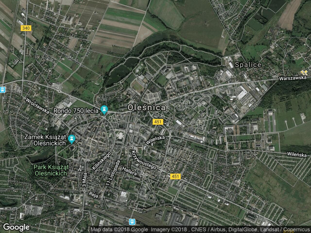 Mieszkanie 3-pokojowe Oleśnica Centrum, ul. Klonowa 1B/11