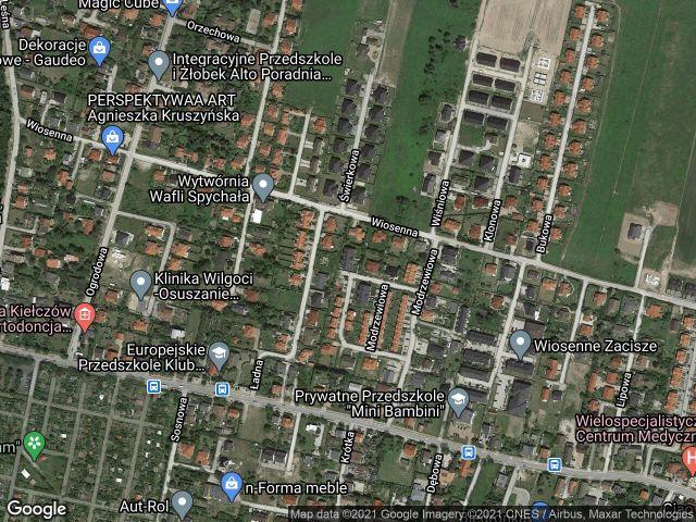 Mieszkanie 2-pokojowe Kiełczów, ul. Modrzewiowa