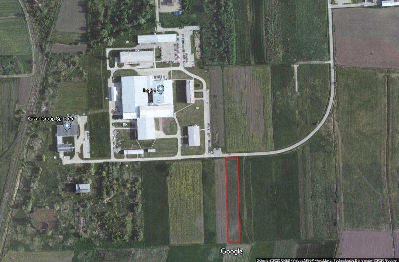 Działka inwestycyjna Przemyśl Przekopana, ul. Lwowska
