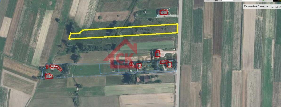 Działka rolno-budowlana Bieliny