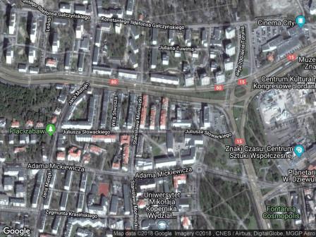 Mieszkanie 2-pokojowe Toruń Bydgoskie Przedmieście, ul. Karola Szymanowskiego