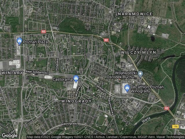 Mieszkanie 3-pokojowe Poznań Winogrady, os. Kosmonautów