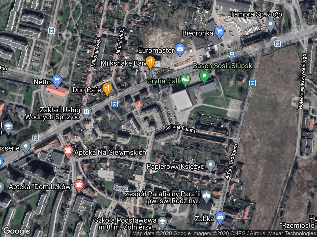 Mieszkanie 2-pokojowe Słupsk, ul. Juliana Fałata