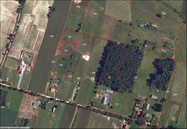Działka rolna Plęsy
