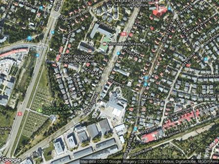 dom wolnostojący Wrocław Krzyki, ul. Wyścigowa 44