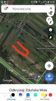 Działka rolno-budowlana Zduńska Wola, ul. Kacza