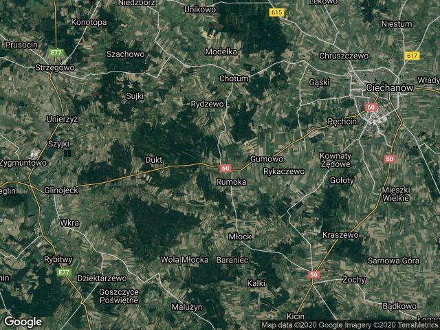 Działka leśna Ościsłowo