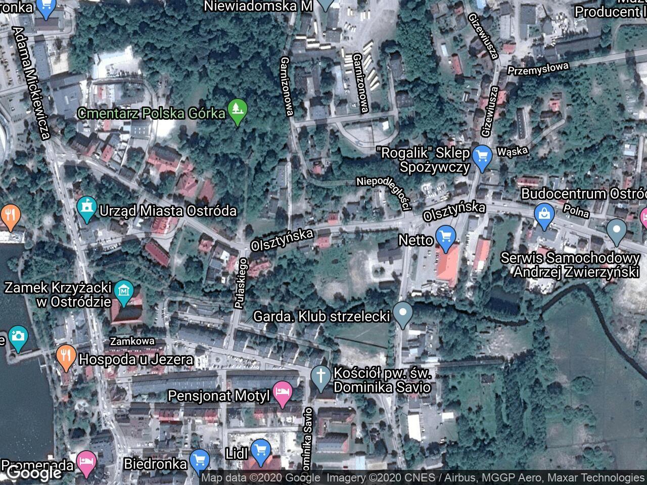 Mieszkanie 2-pokojowe Ostróda, ul. Olsztyńska