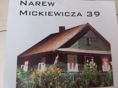 dom wolnostojący Narew, ul. Adama Mickiewicza 39
