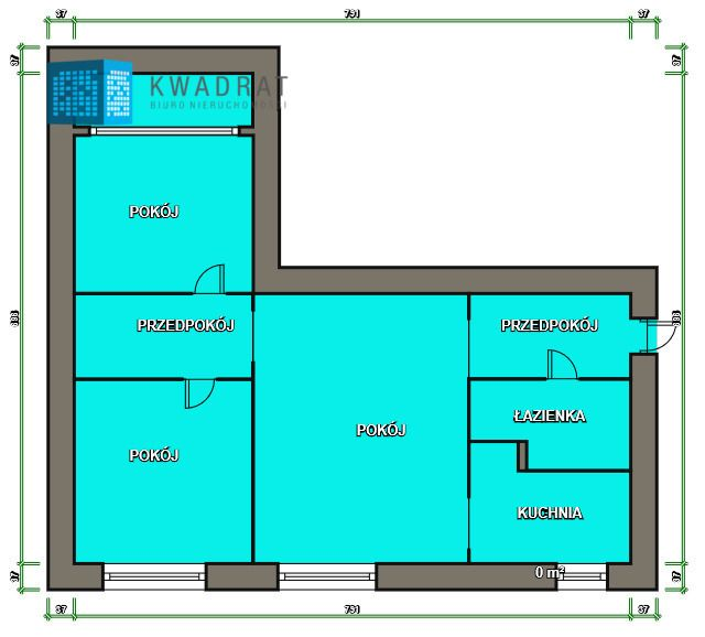 Mieszkanie 3-pokojowe Łódź