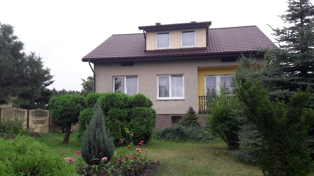 dom wolnostojący, 4 pokoje Końskie, ul. Leśna 10