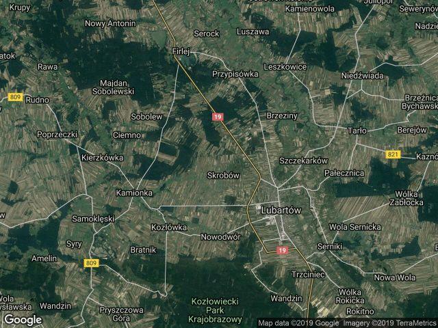 Działka rolno-budowlana Mieczysławka