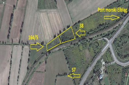 Działka rolna Elbląg, ul. Radomska