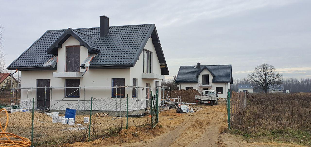 dom wolnostojący, 5 pokoi Łódź Mileszki, ul. Pigwowa