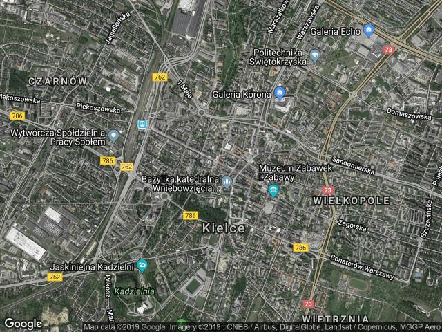 Mieszkanie 2-pokojowe Kielce Centrum, ul. Henryka Sienkiewicza