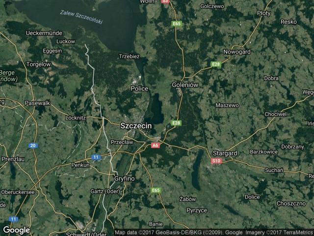 Działka rekreacyjna Szczecin Dąbie