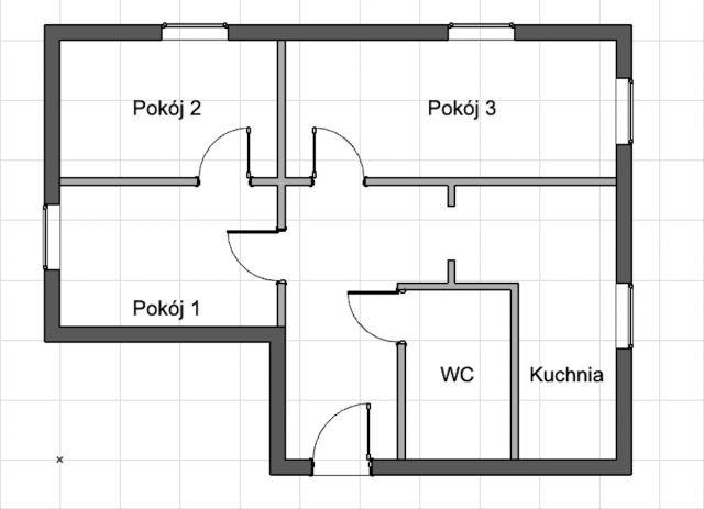 Mieszkanie 3-pokojowe Gliwice Sośnica, ul. Sztygarska