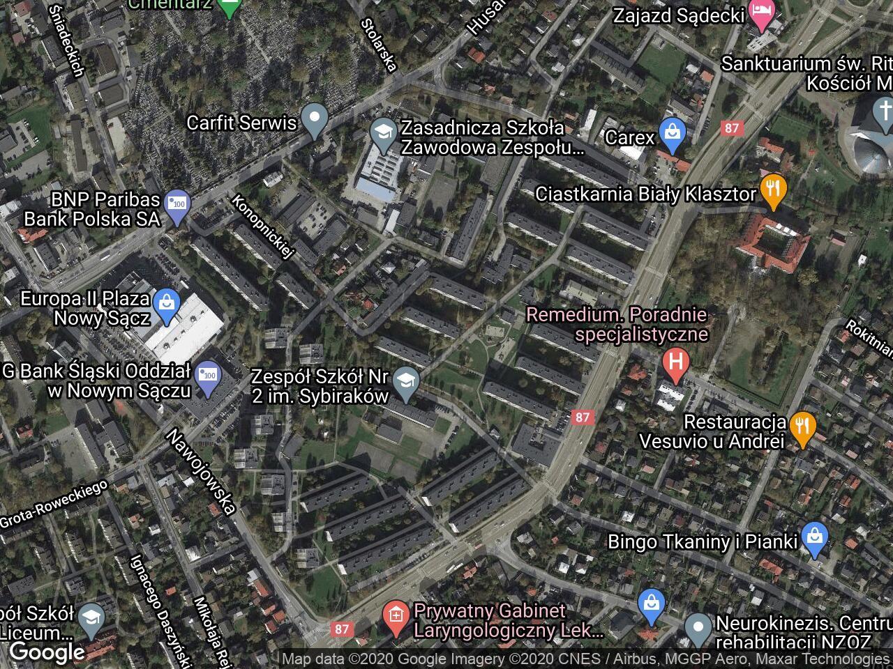 Mieszkanie 2-pokojowe Nowy Sącz Millenium, ul. Marii Konopnickiej